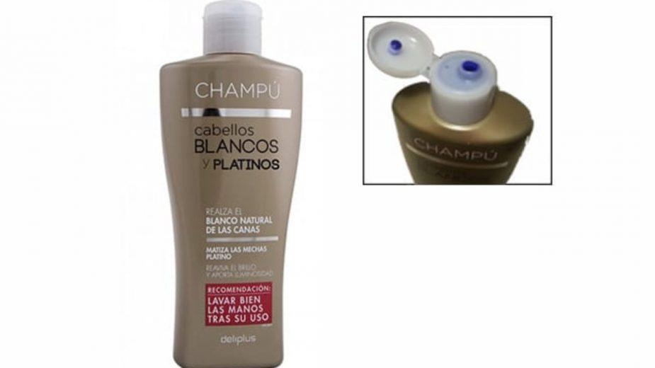 Análisis: Champú cabellos blancos deliplus