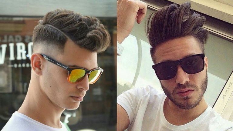 Peinados tupe para hombre