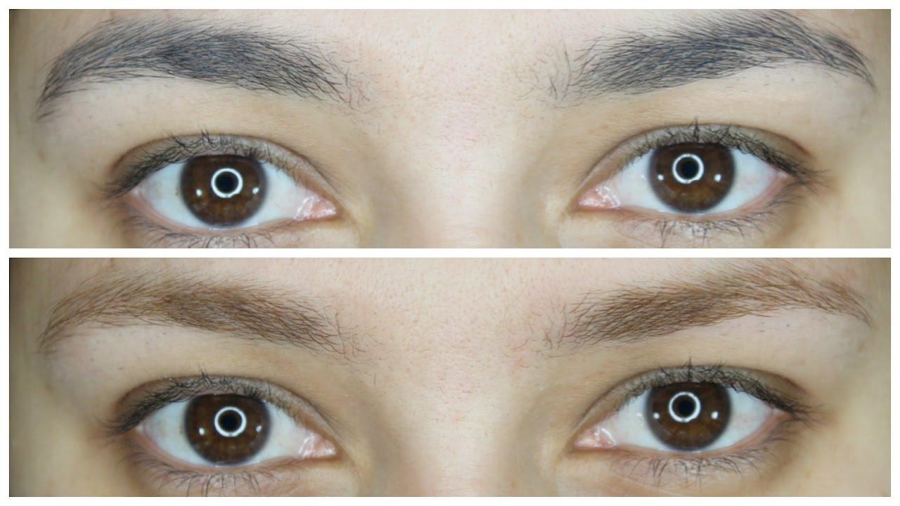 aclarar el color de las cejas 2